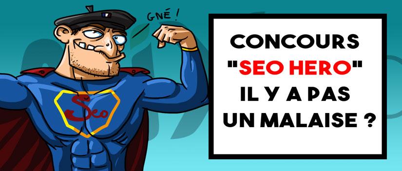 SEO Hero, l'incroyable concours de référencement lancé par WIX