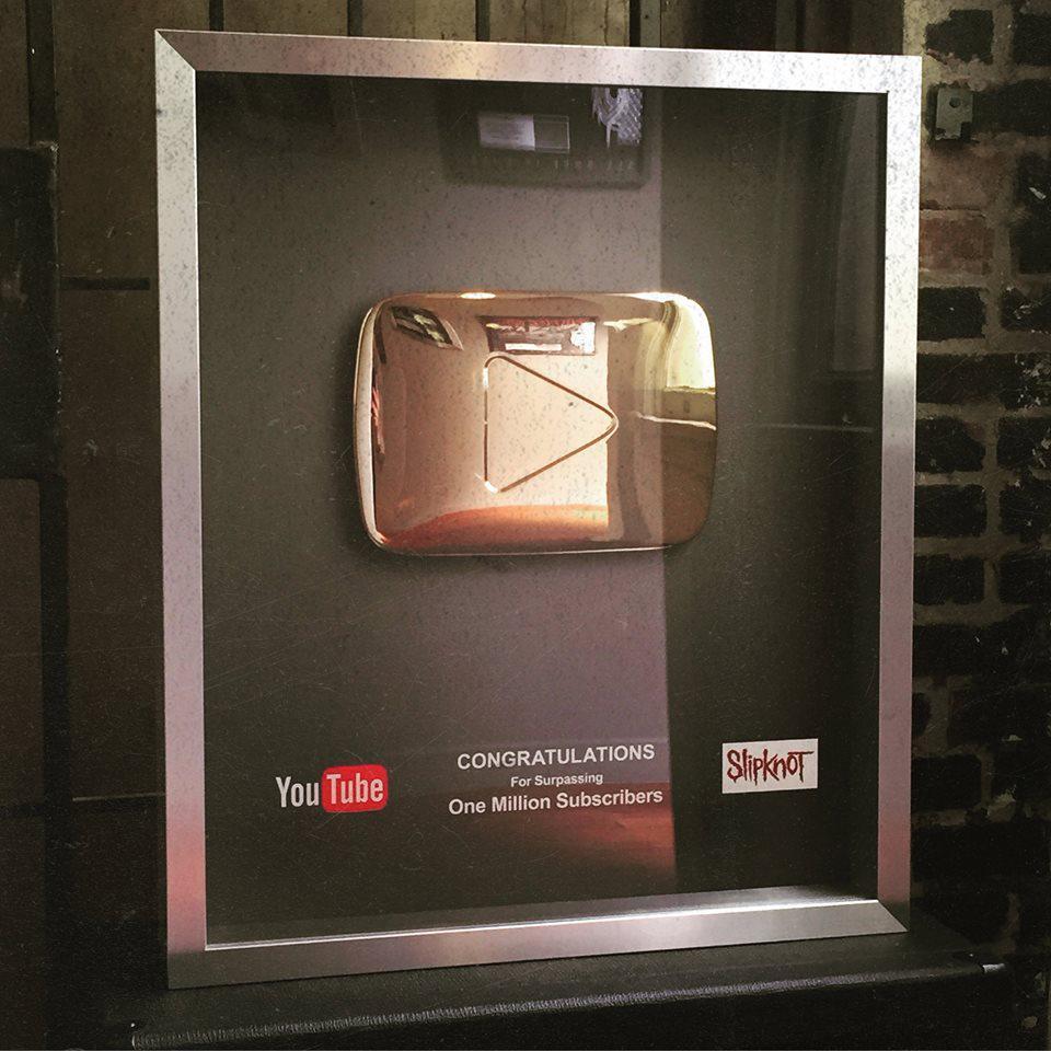 1 million d'abonnes youtube