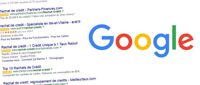 Retour d'expérience sur les 4 publicités Adwords