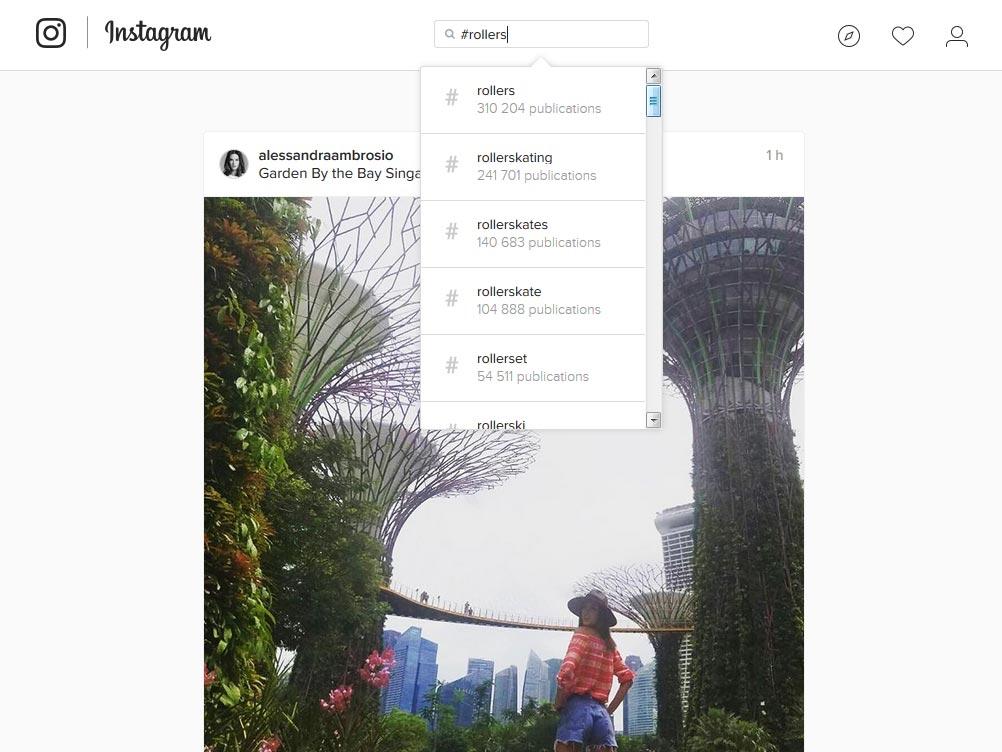 instagram mots clefs