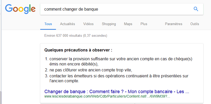 Comment appara tre en position 0 sur google entre mythe - Comment faire passer un coup de soleil rapidement ...