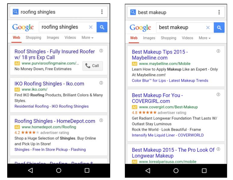 publicite google mobile