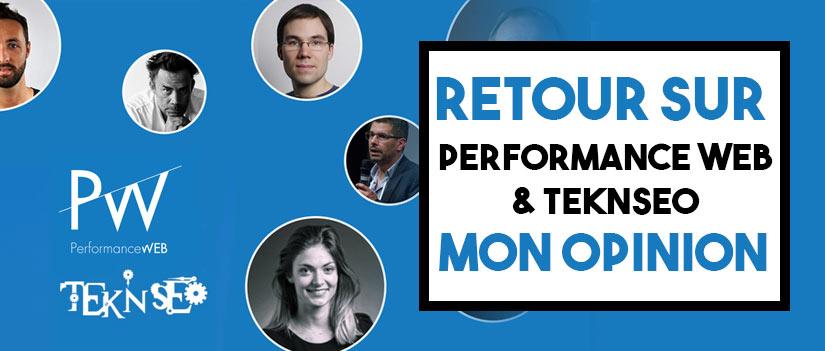 Performance web & Teknseo : Avis et retour en images