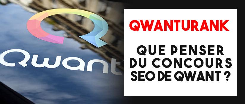 Qwanturank, le concours SEO du moteur de recherche Qwant
